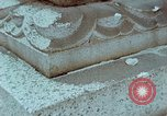 Image of granite stone lantern Hiroshima Japan, 1946, second 32 stock footage video 65675042127