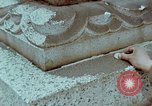 Image of granite stone lantern Hiroshima Japan, 1946, second 34 stock footage video 65675042127