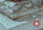 Image of granite stone lantern Hiroshima Japan, 1946, second 39 stock footage video 65675042127
