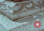 Image of granite stone lantern Hiroshima Japan, 1946, second 40 stock footage video 65675042127