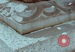 Image of granite stone lantern Hiroshima Japan, 1946, second 42 stock footage video 65675042127