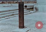 Image of wooden post Hiroshima Japan, 1946, second 9 stock footage video 65675042128