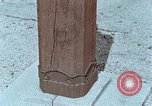 Image of wooden post Hiroshima Japan, 1946, second 12 stock footage video 65675042128