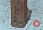 Image of wooden post Hiroshima Japan, 1946, second 13 stock footage video 65675042128