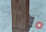 Image of wooden post Hiroshima Japan, 1946, second 14 stock footage video 65675042128