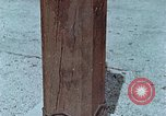 Image of wooden post Hiroshima Japan, 1946, second 15 stock footage video 65675042128