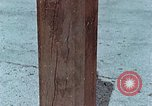 Image of wooden post Hiroshima Japan, 1946, second 16 stock footage video 65675042128