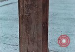 Image of wooden post Hiroshima Japan, 1946, second 18 stock footage video 65675042128