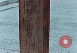 Image of wooden post Hiroshima Japan, 1946, second 19 stock footage video 65675042128