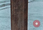 Image of wooden post Hiroshima Japan, 1946, second 20 stock footage video 65675042128