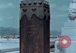 Image of wooden post Hiroshima Japan, 1946, second 30 stock footage video 65675042128