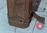 Image of wooden post Hiroshima Japan, 1946, second 57 stock footage video 65675042128