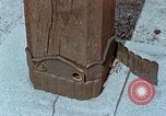 Image of wooden post Hiroshima Japan, 1946, second 58 stock footage video 65675042128