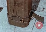 Image of wooden post Hiroshima Japan, 1946, second 59 stock footage video 65675042128