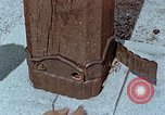Image of wooden post Hiroshima Japan, 1946, second 60 stock footage video 65675042128