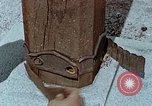 Image of wooden post Hiroshima Japan, 1946, second 61 stock footage video 65675042128