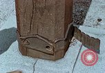 Image of wooden post Hiroshima Japan, 1946, second 62 stock footage video 65675042128