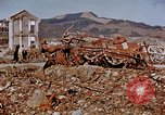 Image of wrecked steel structure Nagasaki Japan, 1946, second 2 stock footage video 65675042144