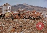 Image of wrecked steel structure Nagasaki Japan, 1946, second 11 stock footage video 65675042144
