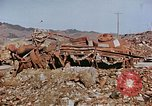 Image of wrecked steel structure Nagasaki Japan, 1946, second 13 stock footage video 65675042144