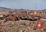 Image of wrecked steel structure Nagasaki Japan, 1946, second 14 stock footage video 65675042144