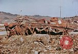 Image of wrecked steel structure Nagasaki Japan, 1946, second 17 stock footage video 65675042144