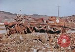 Image of wrecked steel structure Nagasaki Japan, 1946, second 18 stock footage video 65675042144