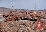 Image of wrecked steel structure Nagasaki Japan, 1946, second 19 stock footage video 65675042144