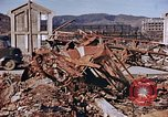 Image of wrecked steel structure Nagasaki Japan, 1946, second 24 stock footage video 65675042144