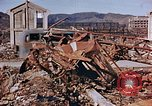 Image of wrecked steel structure Nagasaki Japan, 1946, second 25 stock footage video 65675042144