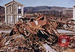 Image of wrecked steel structure Nagasaki Japan, 1946, second 29 stock footage video 65675042144