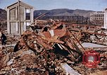 Image of wrecked steel structure Nagasaki Japan, 1946, second 30 stock footage video 65675042144