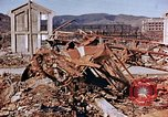 Image of wrecked steel structure Nagasaki Japan, 1946, second 32 stock footage video 65675042144