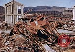 Image of wrecked steel structure Nagasaki Japan, 1946, second 33 stock footage video 65675042144