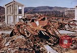 Image of wrecked steel structure Nagasaki Japan, 1946, second 34 stock footage video 65675042144