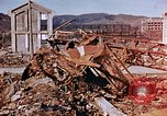 Image of wrecked steel structure Nagasaki Japan, 1946, second 35 stock footage video 65675042144