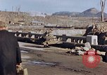Image of wrecked steel structure Nagasaki Japan, 1946, second 37 stock footage video 65675042144
