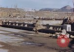 Image of wrecked steel structure Nagasaki Japan, 1946, second 39 stock footage video 65675042144