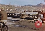 Image of wrecked steel structure Nagasaki Japan, 1946, second 40 stock footage video 65675042144