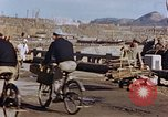 Image of wrecked steel structure Nagasaki Japan, 1946, second 43 stock footage video 65675042144