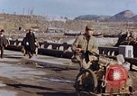 Image of wrecked steel structure Nagasaki Japan, 1946, second 49 stock footage video 65675042144