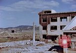 Image of destructed building Nagasaki Japan, 1946, second 33 stock footage video 65675042147