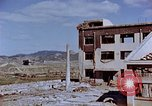 Image of destructed building Nagasaki Japan, 1946, second 39 stock footage video 65675042147