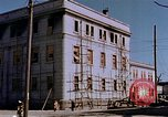 Image of destructed building Hiroshima Japan, 1946, second 21 stock footage video 65675042161