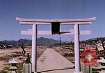 Image of Torii Hiroshima Japan, 1946, second 39 stock footage video 65675042167
