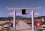 Image of Torii Hiroshima Japan, 1946, second 60 stock footage video 65675042167