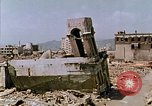 Image of destructed building Hiroshima Japan, 1946, second 11 stock footage video 65675042168