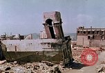 Image of destructed building Hiroshima Japan, 1946, second 21 stock footage video 65675042168