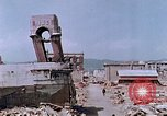 Image of destructed building Hiroshima Japan, 1946, second 47 stock footage video 65675042168