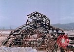 Image of destructed building Hiroshima Japan, 1946, second 55 stock footage video 65675042168